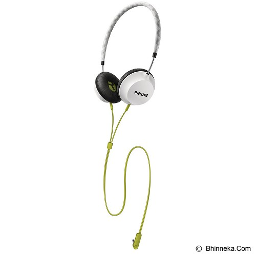 PHILIPS Strada On Ear CitiScape Headband Headphones [SHL 5100WT] - White - Headphone Portable